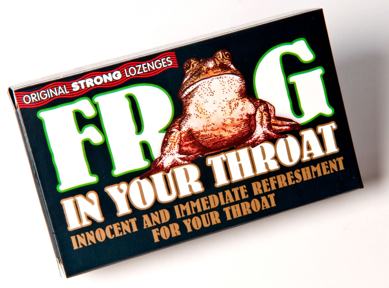 Frog in Your Throat Original Strong Lozenges
