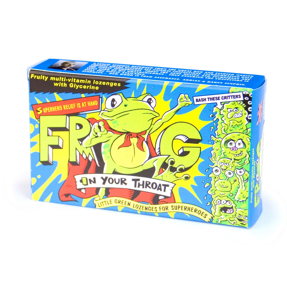 Frog in your throat multi vitamin lozenges