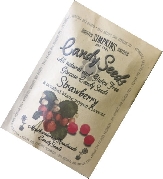 Botanical Collection - Strawberry and Crushed Black Pepper Seed Packet