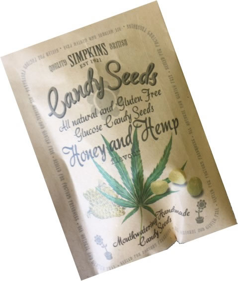 Botanical Collection - Honey and Hemp Seed Packet