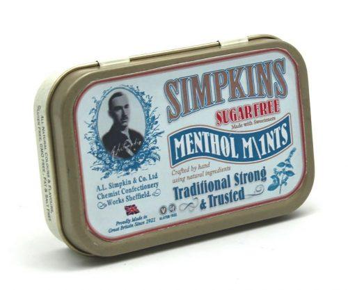 Simpkins Sugar Free 'MentholM\1nts' Tin