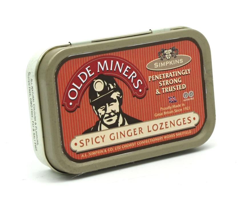 Olde Miners Original Spicy Ginger Lozenges