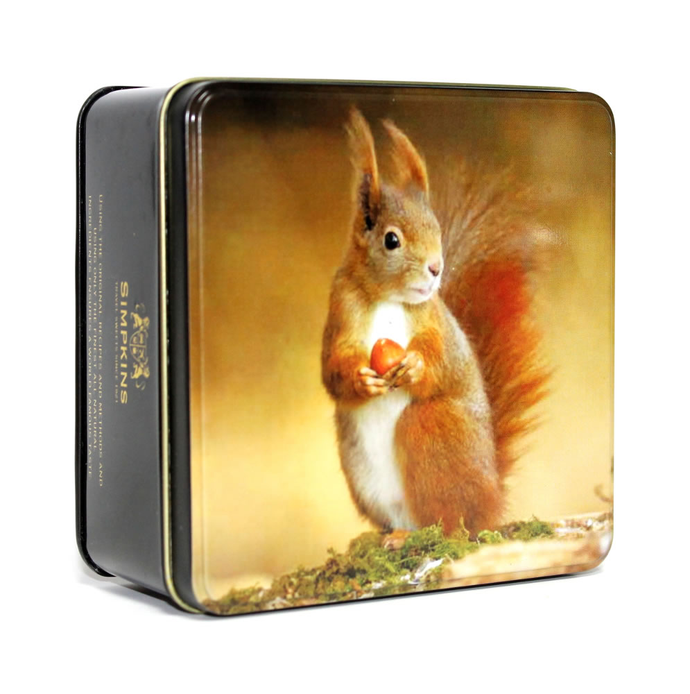 British Squirrel Gift Tin