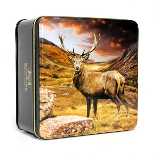 British Countryside Stag Gift Tin