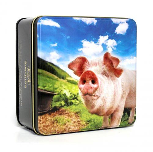 British Farmyard Cutes - Percy the Pig Gift Tin