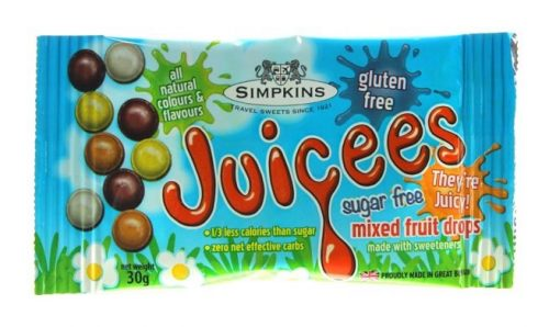 Simpkins Sugar Free JUICEES Mini Fruit Pack
