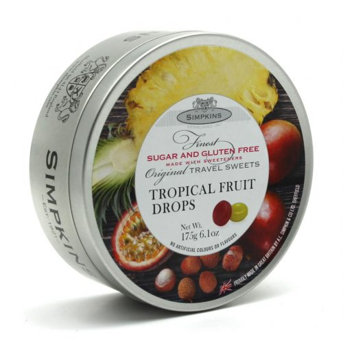 Sugar Free and Gluten Free Tropical Fruit Drops
