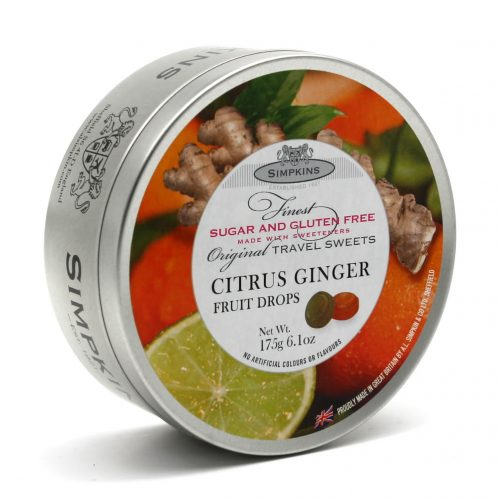 Simpkins Sugar Free and Gluten Free Citrus Ginger Drops