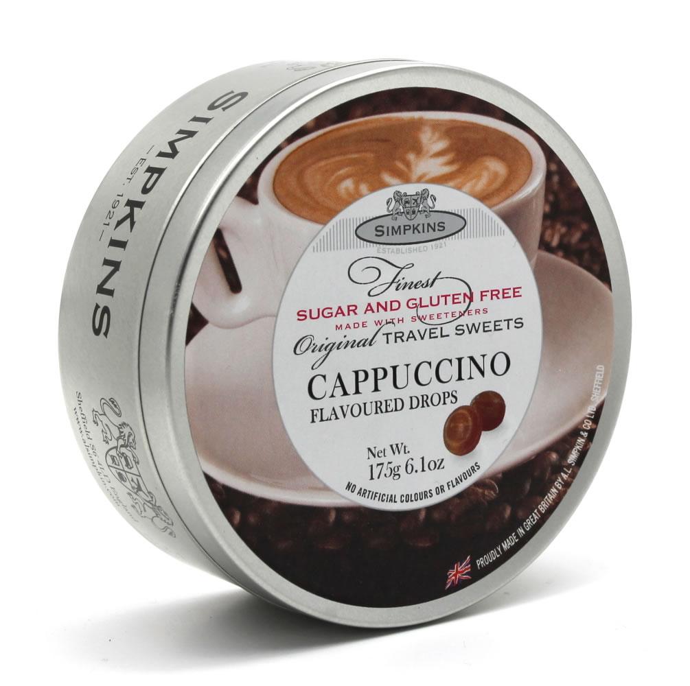 Simpkins Sugar Free and Gluten Free Cappuccino Drops