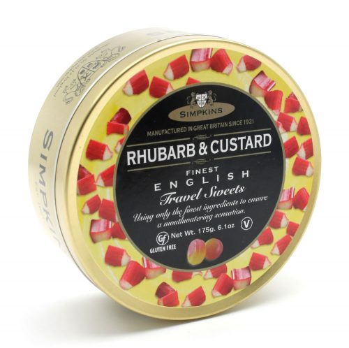 Rhubarb and Custard Travel Sweets