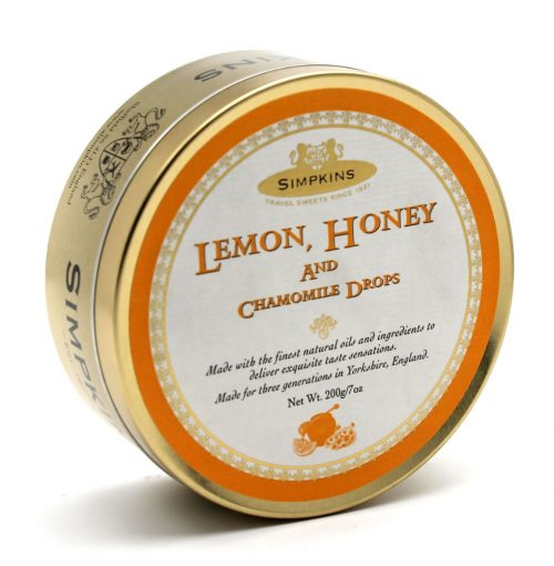 Simpkins Classic Lemon Honey and Chamomile Travel Sweets