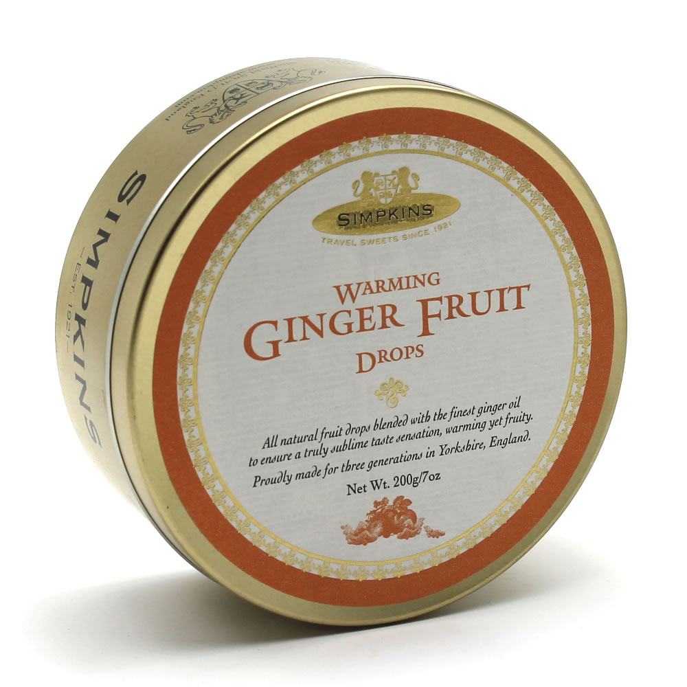 Simpkins Classic Warming Ginger Fruit Drops