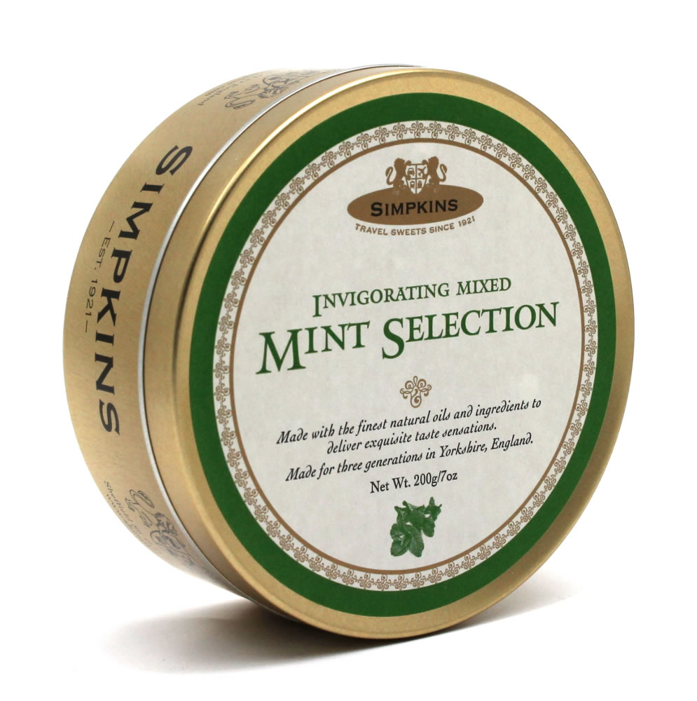 Simpkins Classic Invigorating Mint Selection