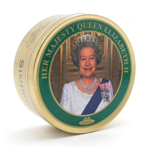 HM Queen Elizabeth II Travel Tin Sweets
