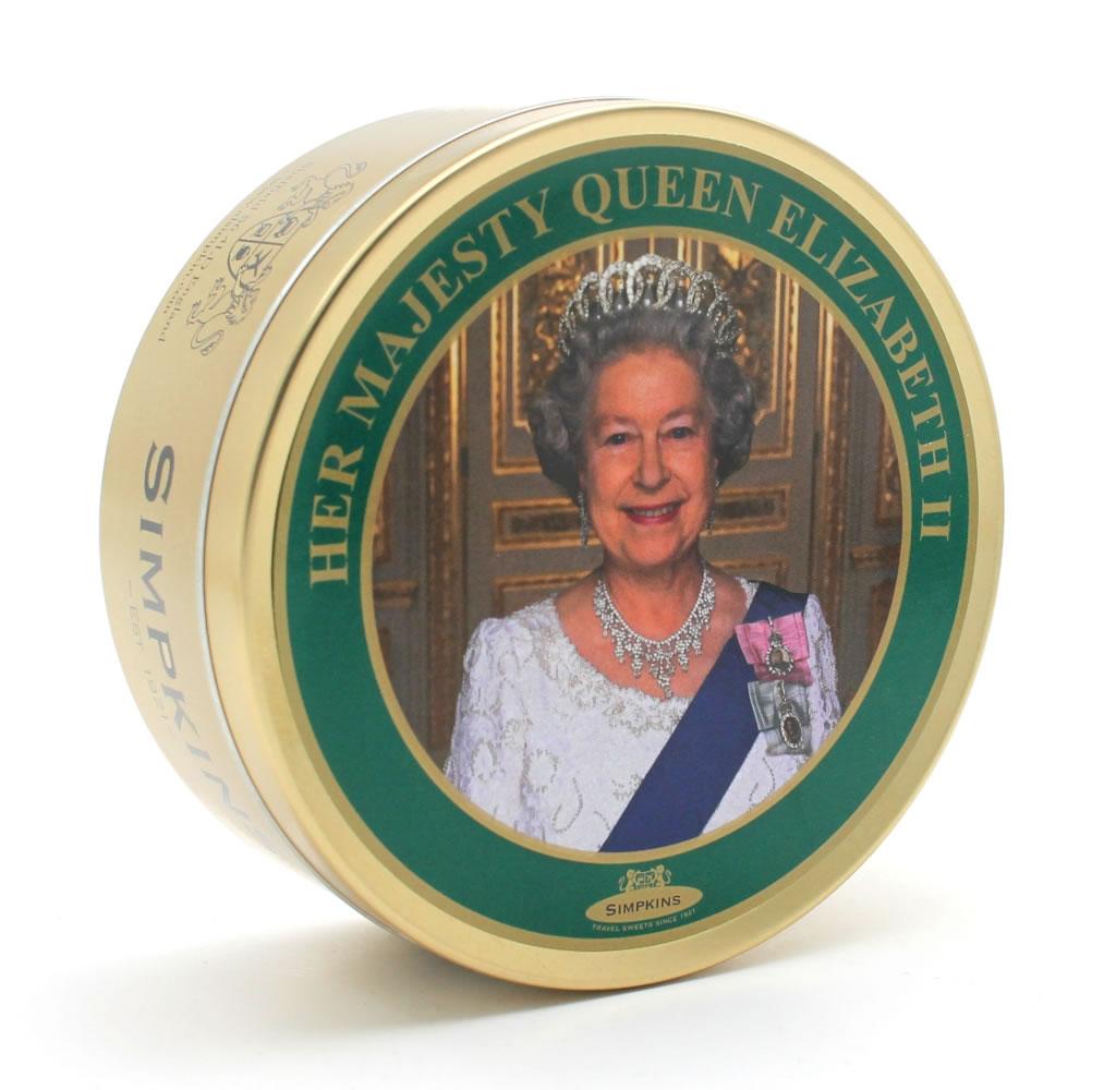 HM Queen Elizabeth II Travel Tin Sweets