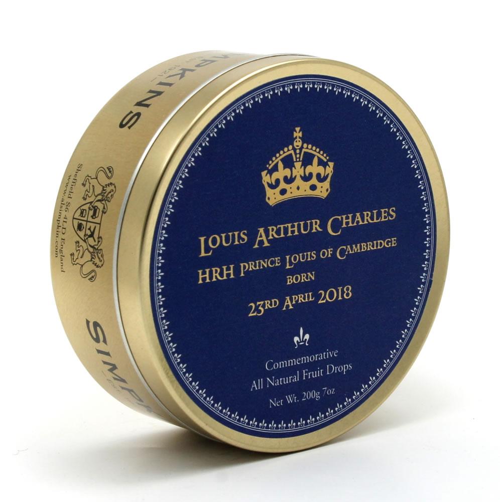 HRH Prince Louis of Cambridge Travel Tin