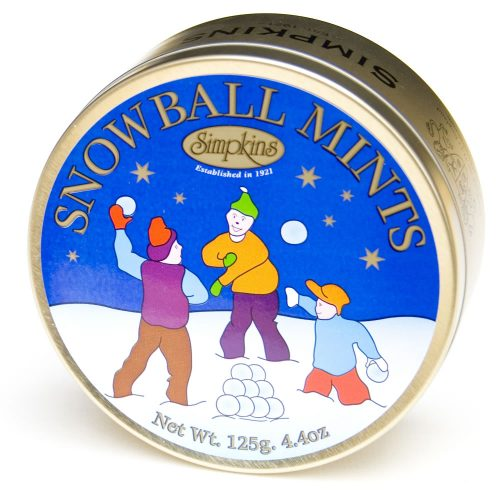 Christmas Snowball Mints