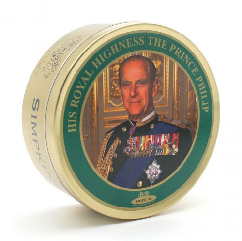 HRH Prince Philip the Duke of Edinburgh Travel Tin