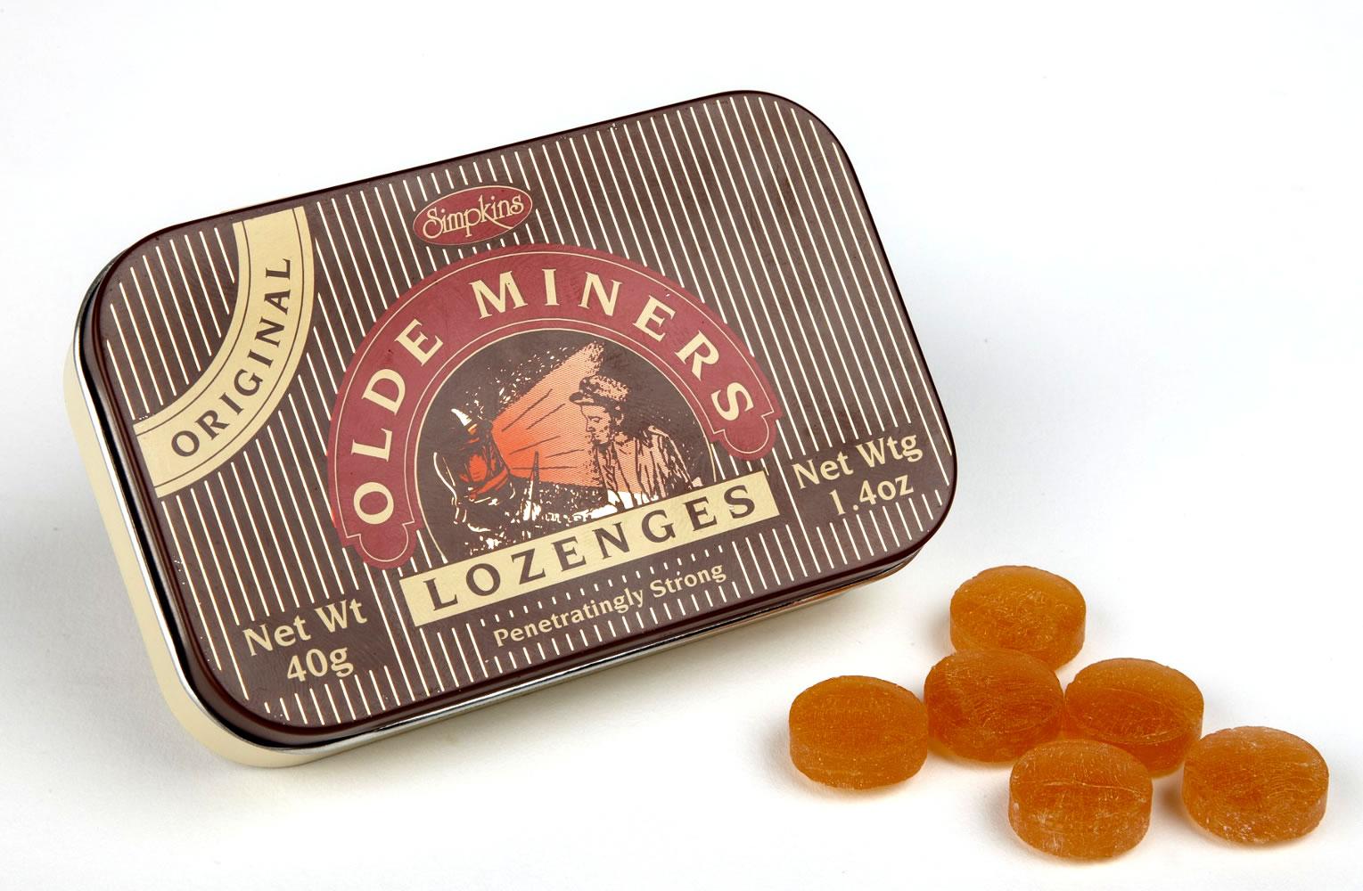 Olde Miners Original Lozenges 40g Tin