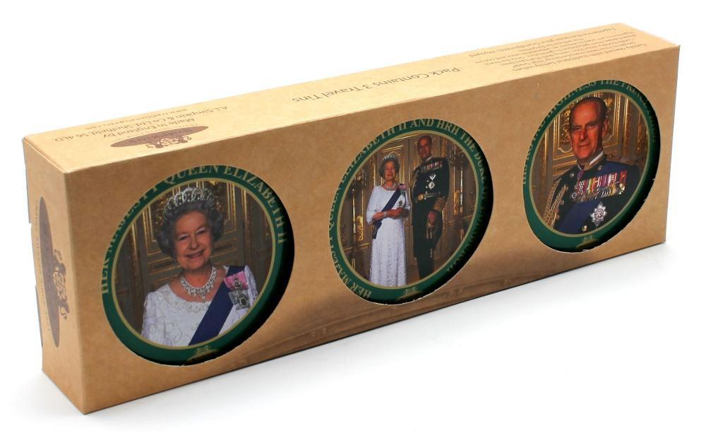 HM Queen Elizabeth II Trio Gift Pack