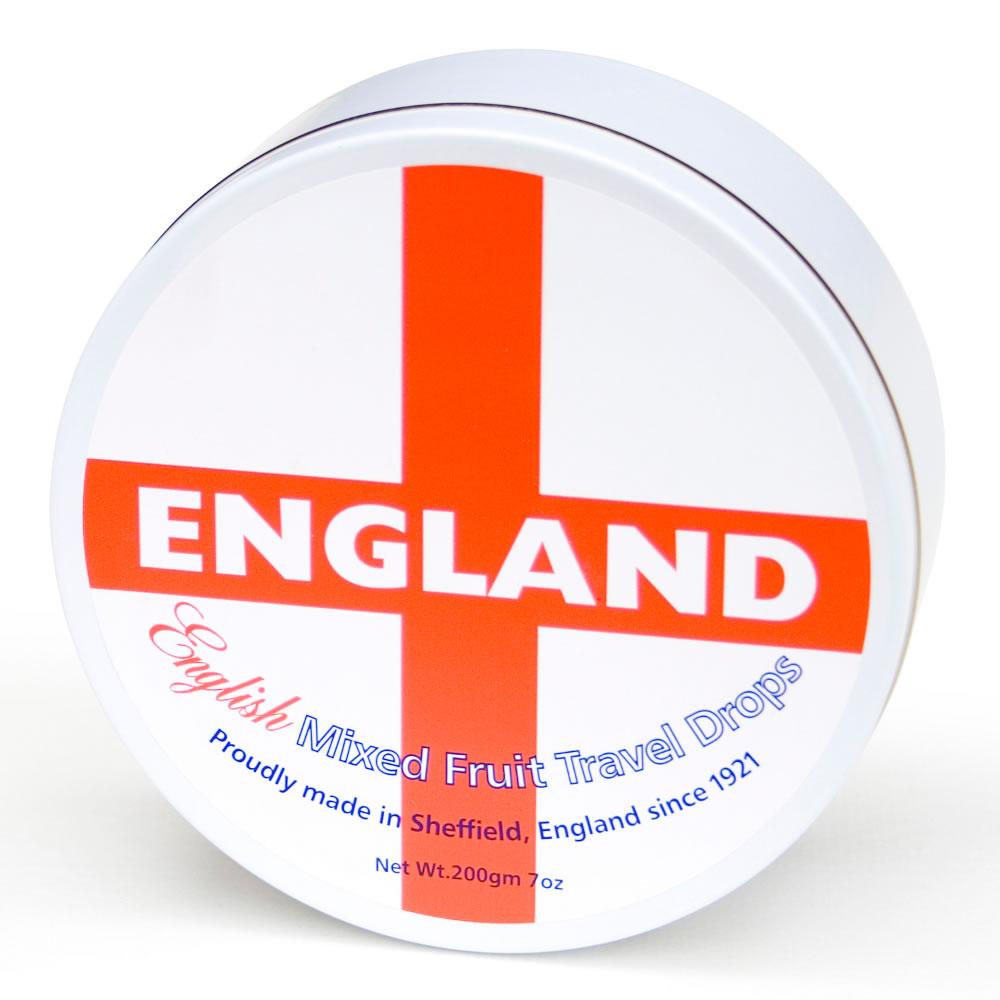 Mixed Fruits England Travel Tin Sweets