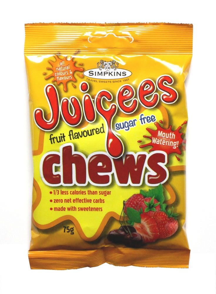 JUICEES Sugar Free Fruit Chews