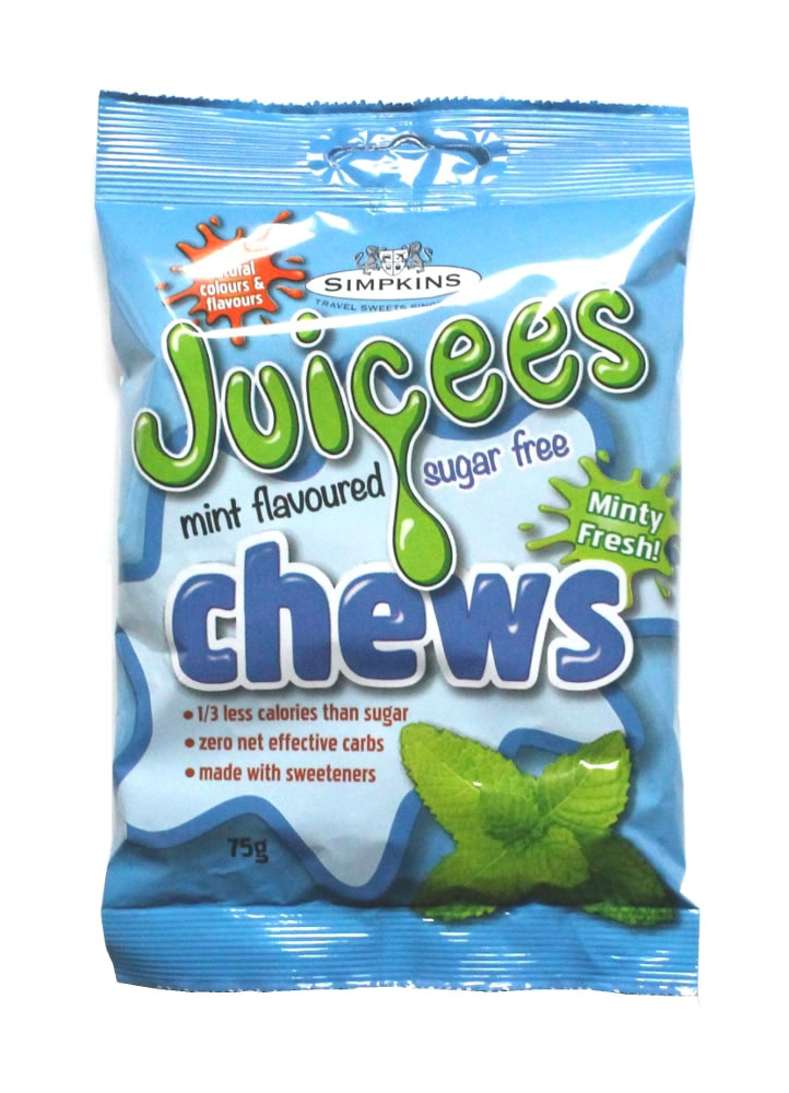 JUICEES Sugar Free Peppermint Chews