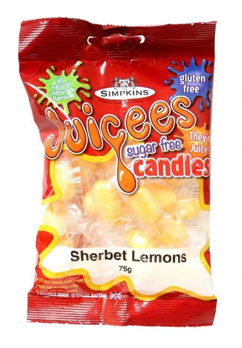 JUICEES Sugar Free Sherbert Lemons