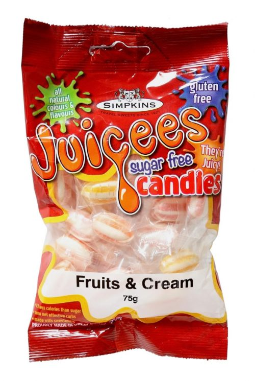 JUICEES Sugar Free Fruit and Creams