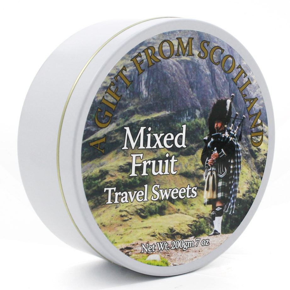 Scottish Piper Mixed Fruit Travel Sweets