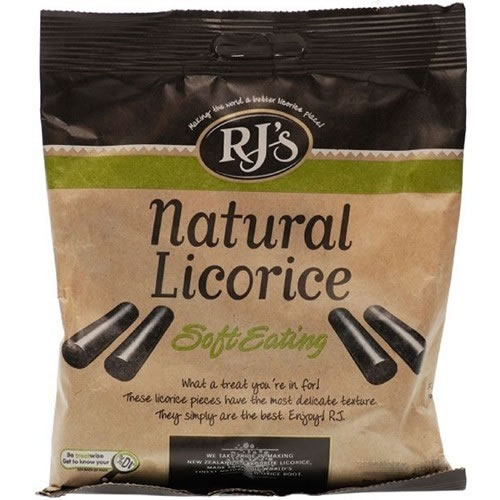 RJs Natural Soft Eating Liquorice