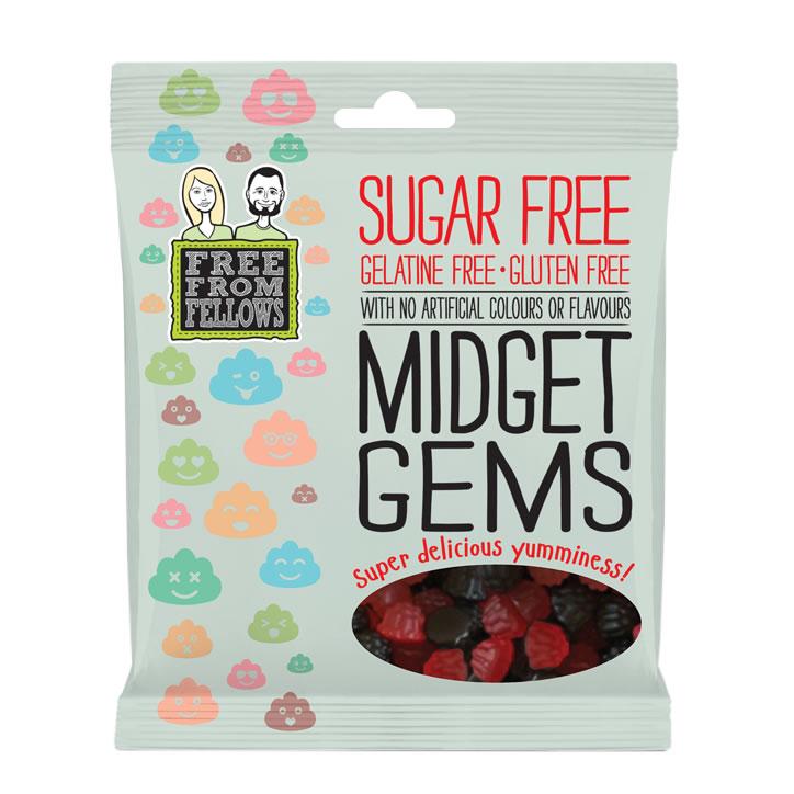 FREE FROM Fellows Sugar Free Midget Gems