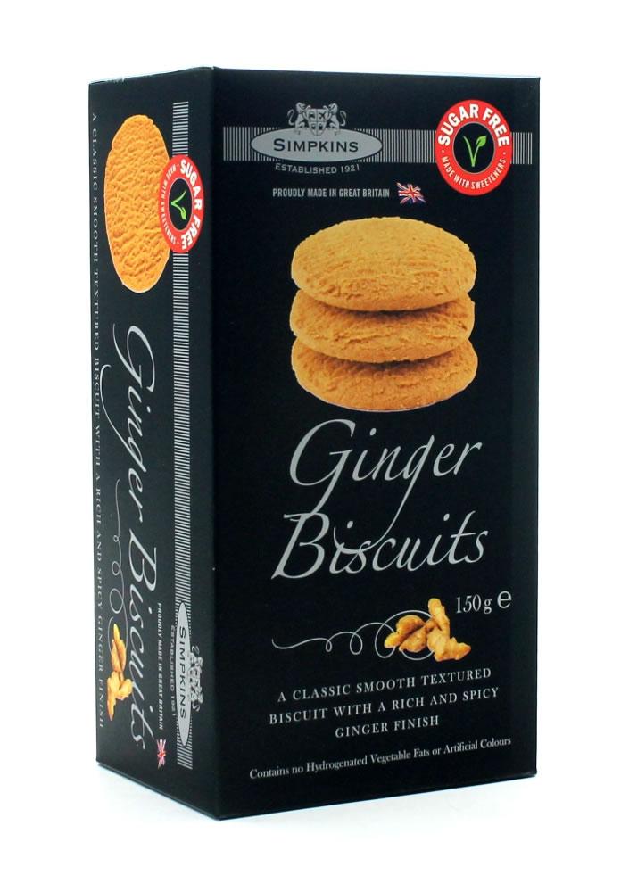 No Added Sugar Ginger Biscuits