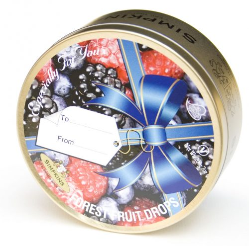 Forest Fruit Drops Ribbon Gift Tin