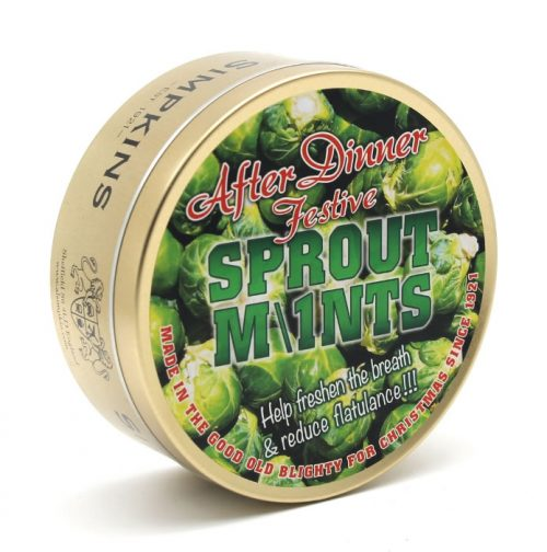 Festive After Dinner Sprout Mints