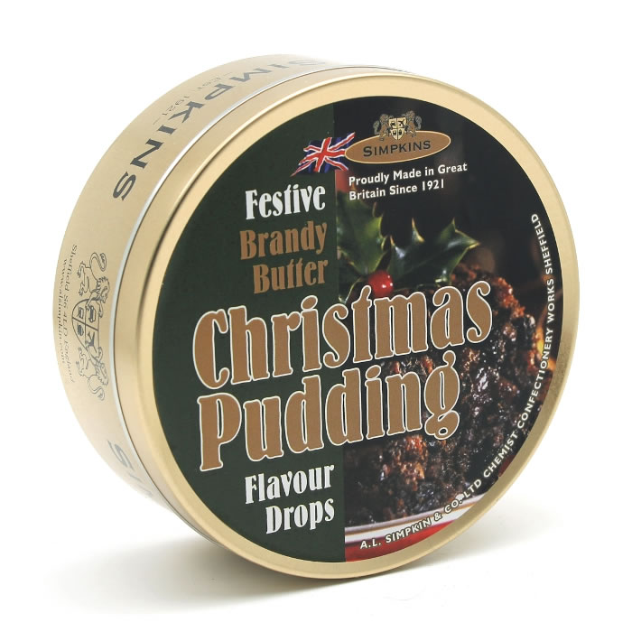 Festive Christmas Pudding and Brandy Butter Sweets