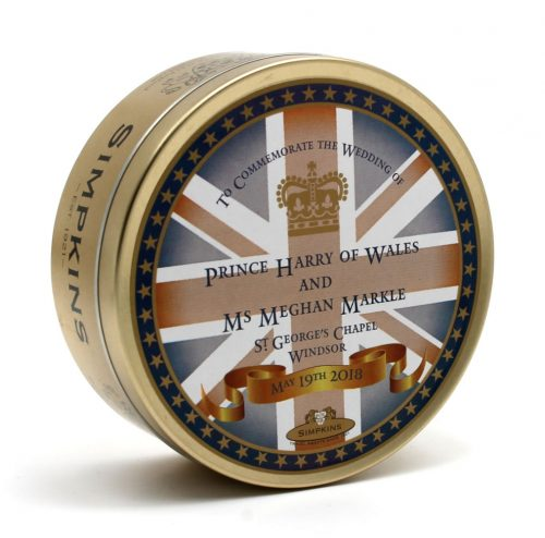 Prince Harry and Ms Meghan Markle Wedding Tin