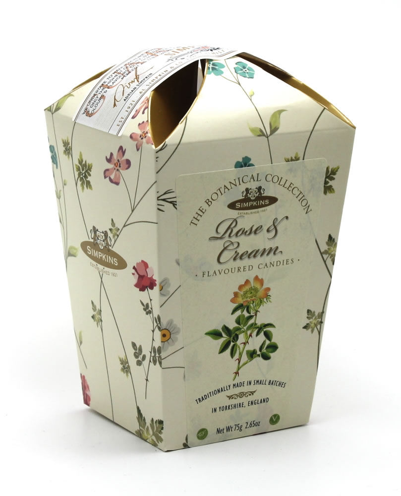 Botanical Collection - Rose Cream Flowerpots