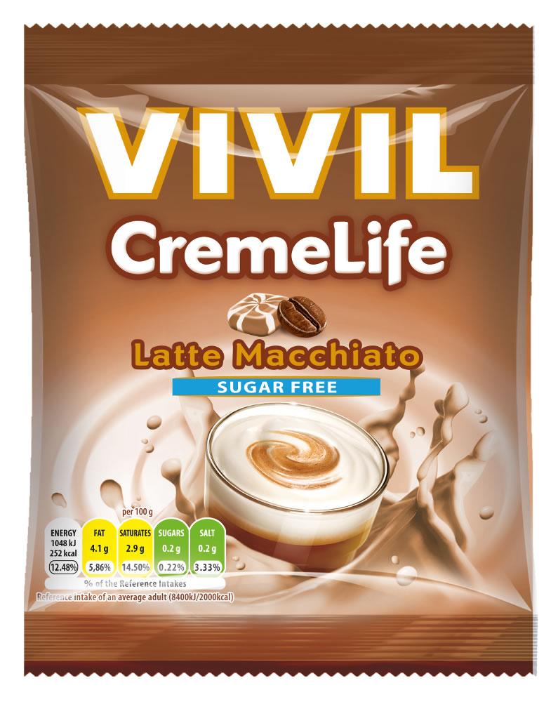 Sugar Free VIVIL Latte Macchiato CremeLife