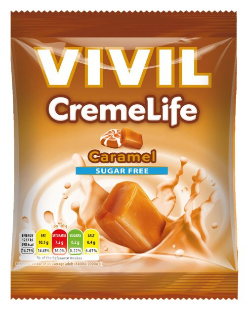 VIVIL Sugar Free Caramel & Cream - CremeLife