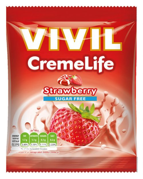 VIVIL Sugar Free Strawberry & Cream CremeLife