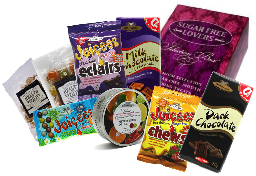 Sugar Free Lovers Selection Gift Box