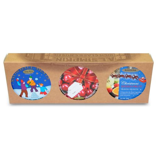 Christmas Trio Tin Gift Pack