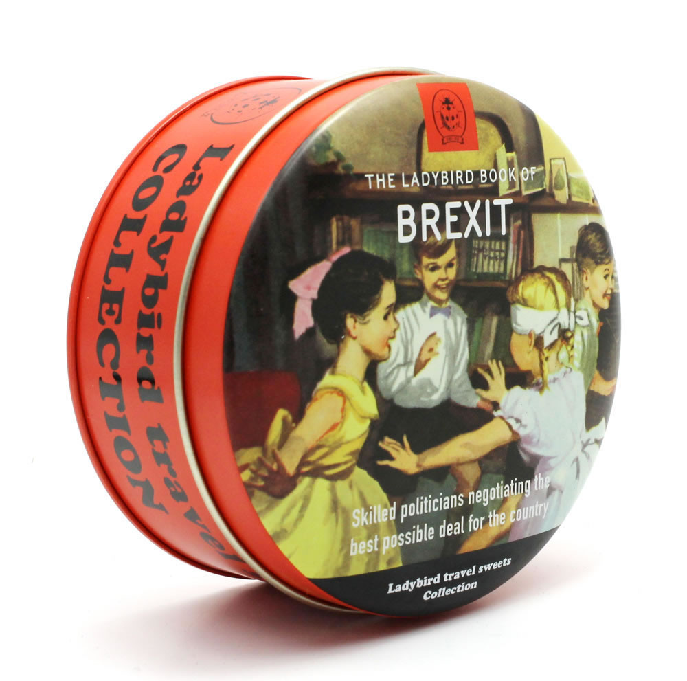Ladybird Brexit Mixed Fruit Travel Sweets