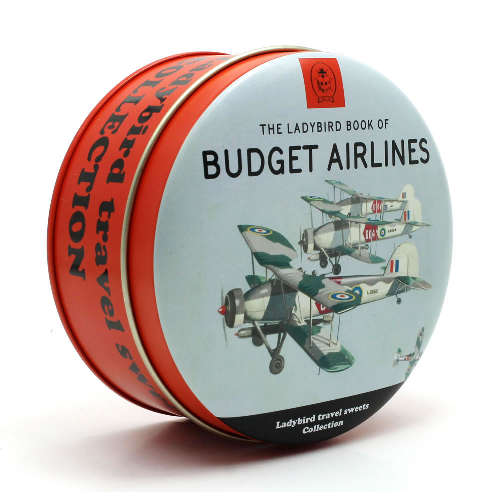 "Ladybird ""Budget Airlines"" Mixed Fruit Travel Sweets"