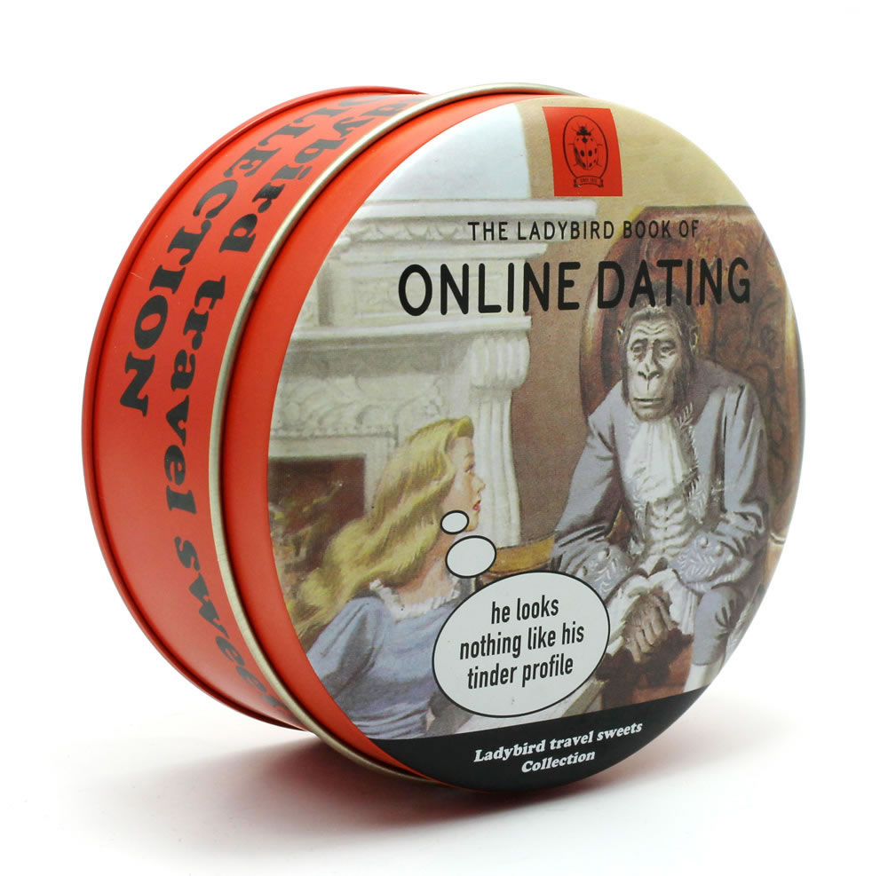 "Ladybird ""Online Dating"" Mixed Fruit Travel Sweets"