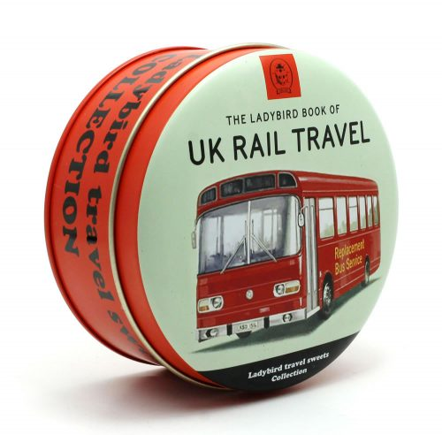 "Ladybird ""UK Train Travel"" Mixed Fruit Travel Sweets"