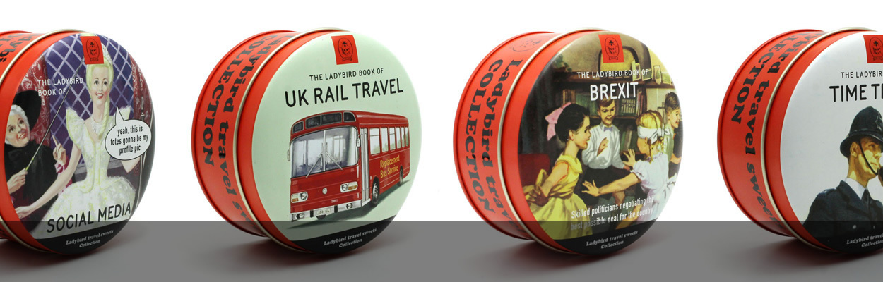 Ladybird Travel Tin Sweets