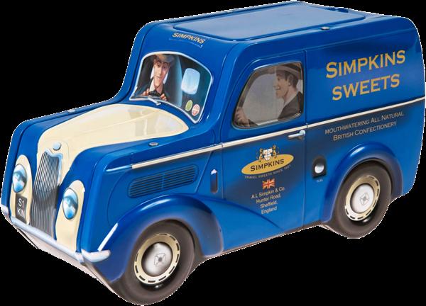 Retro Delivery Van