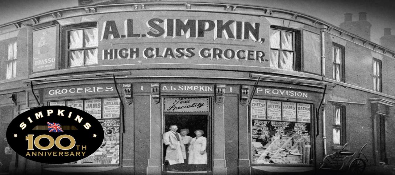 AL Simpkin vintage shopfront